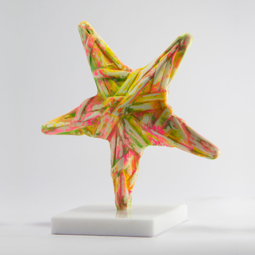 24x22x12cm-Colored resin-Dionyssos marble