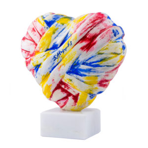 15x13x8 cm - Colored resin - Dionyssos marble