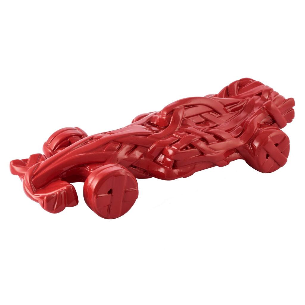 8,5x30x13cm-Acrylic resin-automotive Red.